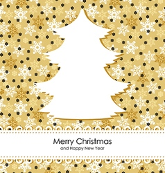 Christmas backgr gold vector
