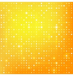 Gold background with dots vector