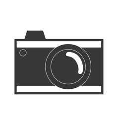 photo camera photography vector image