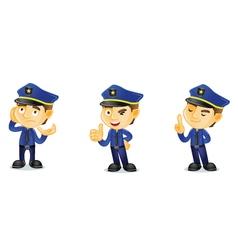 Policeman 2 vector