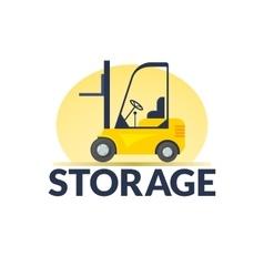 Storage logo vector image