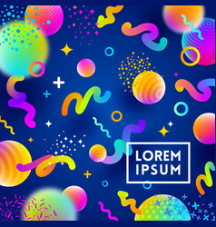 Abstract festive multicolored background vector