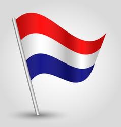 flag netherlands vector image
