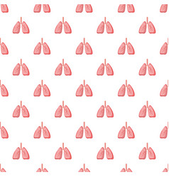 Human lungs pattern vector