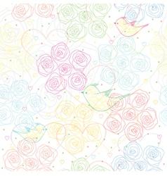 light pattern vector image vector image