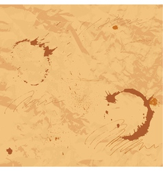 Stained old paper vector image vector image