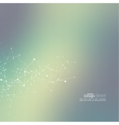 Virtual abstract background vector image vector image