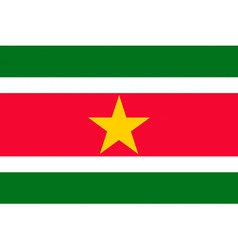 Surinamese flag vector