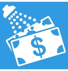 Money laundry icon vector