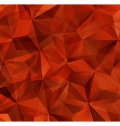 Red triangle abstract background vector