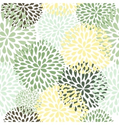 seamless pattern Modern floral texture Stylish vector image vector image