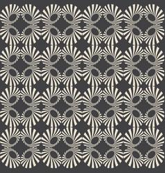 color retro pattern background vector image