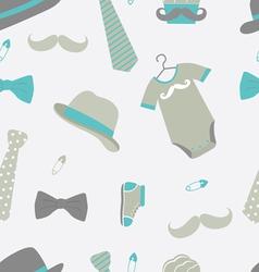 Little man pattern vector image