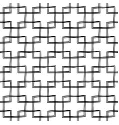 Scribble seamless pattern design - hand drawn vector