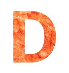 D land letter vector