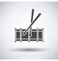 Drum toy icon vector