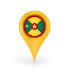 Location Grenada vector image