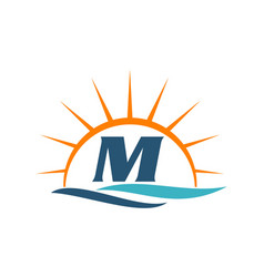Wave sunset initial m vector