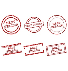 Best seller stamps vector