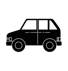 car vehicle icon vector image vector image