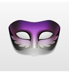 Carnival Masquerade Party Mask Isolated vector image