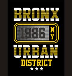 Bronx ny vector
