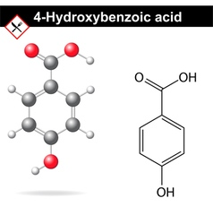 4-hydroxybenzoic acid vector