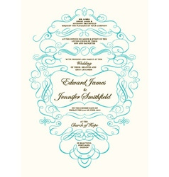 Invitations template vector