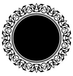 Circle frame vector