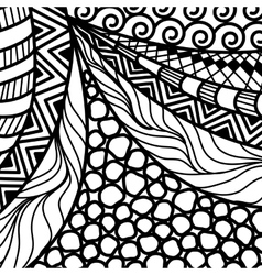 Artistically ethnic pattern vector