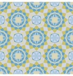 Decorative mosaic seamless pattern vector image vector image