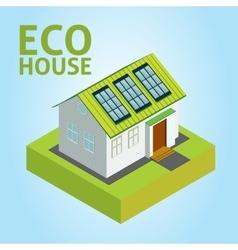 Green House concept vector image
