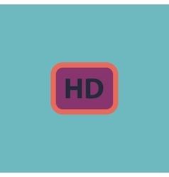 Hd word button vector