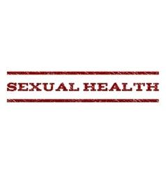 Sexual health watermark stamp vector