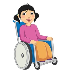 Kid disabled vector