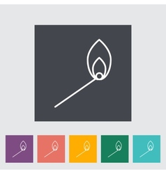 Match icon vector image