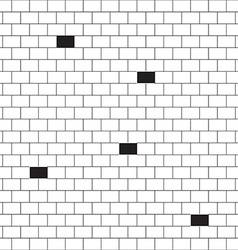 bricks background vector image