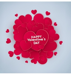 Festive background valentines day vector