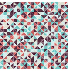 Geometric seamless pattern of triangles vector