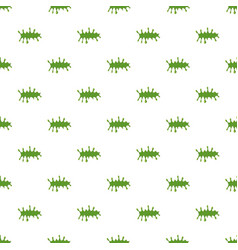 Splattered mucus isolated on white background vector