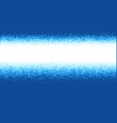 winter blue frost background with copy space vector image vector image