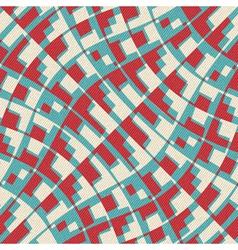 city map print vector image