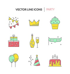 Party and celebration vector