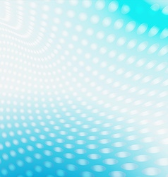 Background dots blue vector image