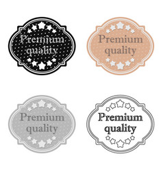 Premium quality icon in flat style isolated on vector