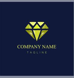 Watercolor diamond logo design8 vector