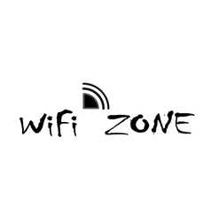 Wifi zone connection vector