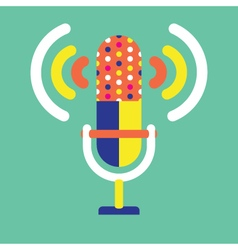 Microphone-and-sound-icon- vector