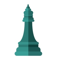 Chess piece icon game design graphic vector