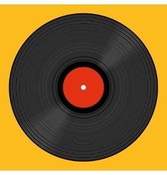 Vinyl record vector image